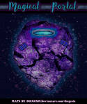 Magical Portal | Fantasy Map
