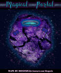 Magical Portal | Fantasy Map - Gridless
