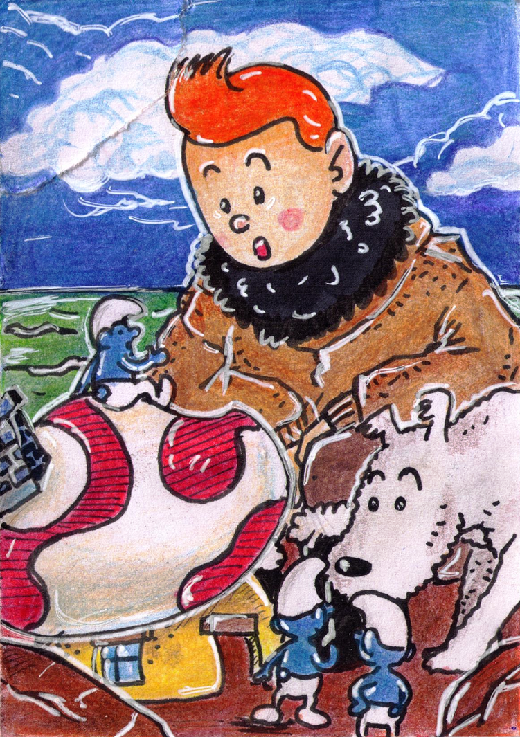 Tintin by Antaie
