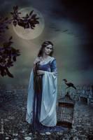 The Raven by tinnatinna