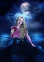 Under the moonlight by tinnatinna