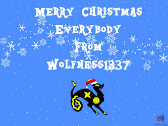 Merry Christmas From Wolfness1337 by Wolfness1337