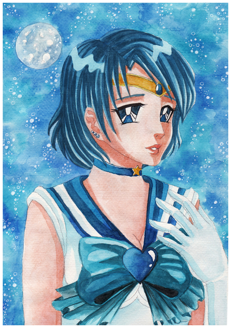 .:Sailor Mercury:. by yoneyu