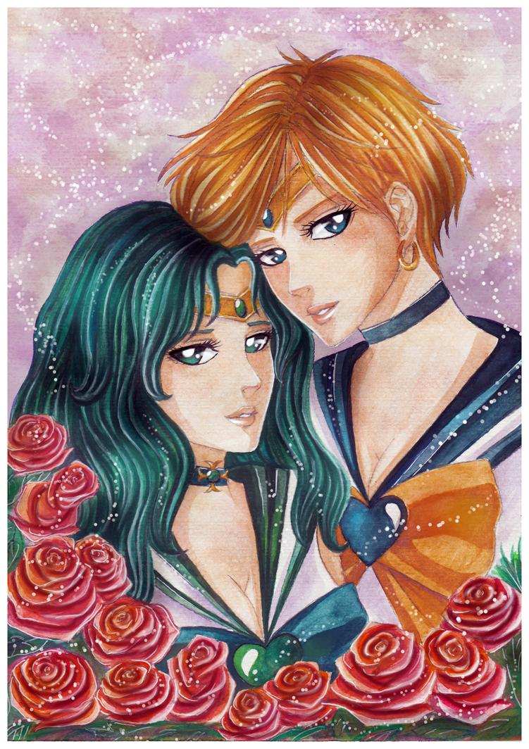 :Uranus x Neptune: by yoneyu