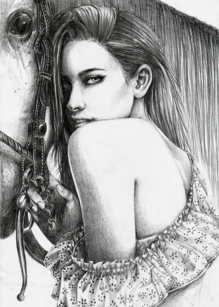 .:Horse Whisperer:. by yoneyu