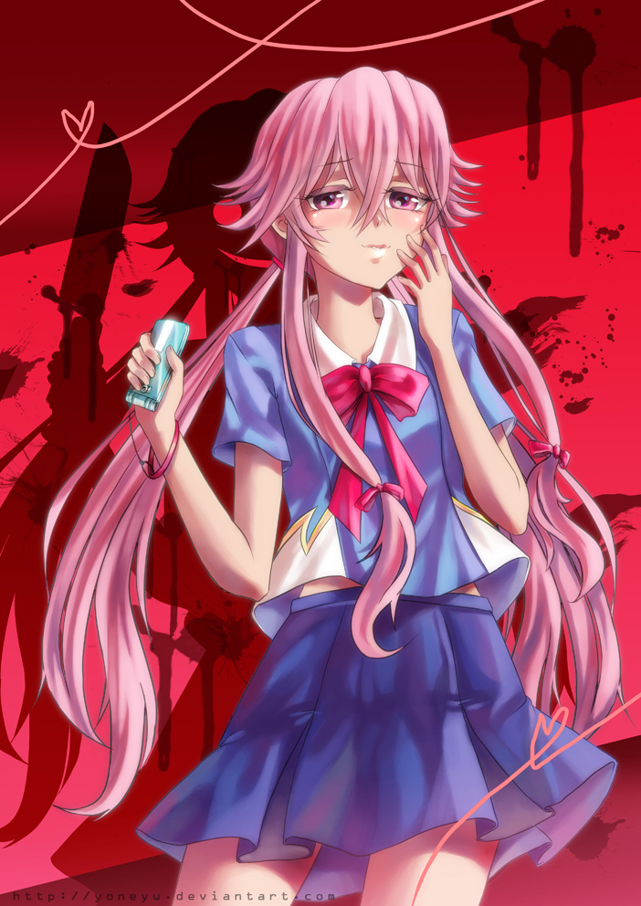 Yuno Gasai By Yoneyu On Deviantart