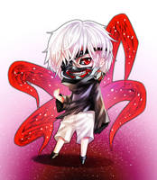.:Tokyo Ghoul Chibi:. by yoneyu