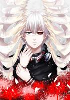 .: Kaneki :. by yoneyu