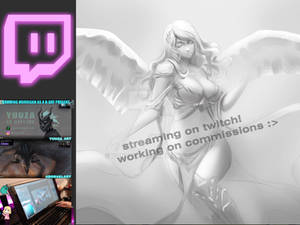 .:Streaming on Twitch:.