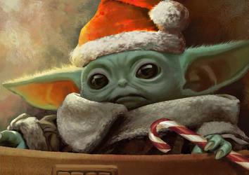 .:X-mas Baby Yoda:.