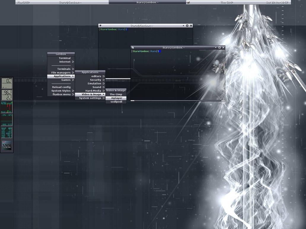 Fluxbox style : Mercxx by ikaro on DeviantArt