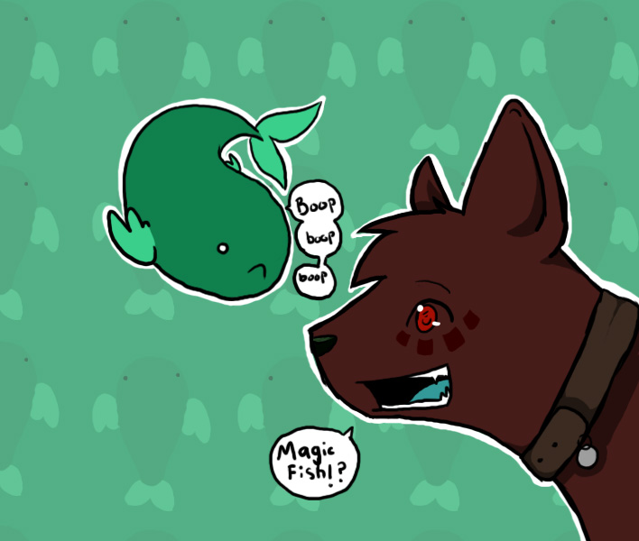 Rook and the magic fish 2 by joeythecat on deviantart for The magic fish