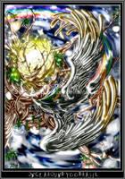 Once around Yggdrasil by zenphoenixa