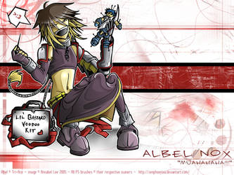 Albel Nox, li'l bastard. XD by zenphoenixa