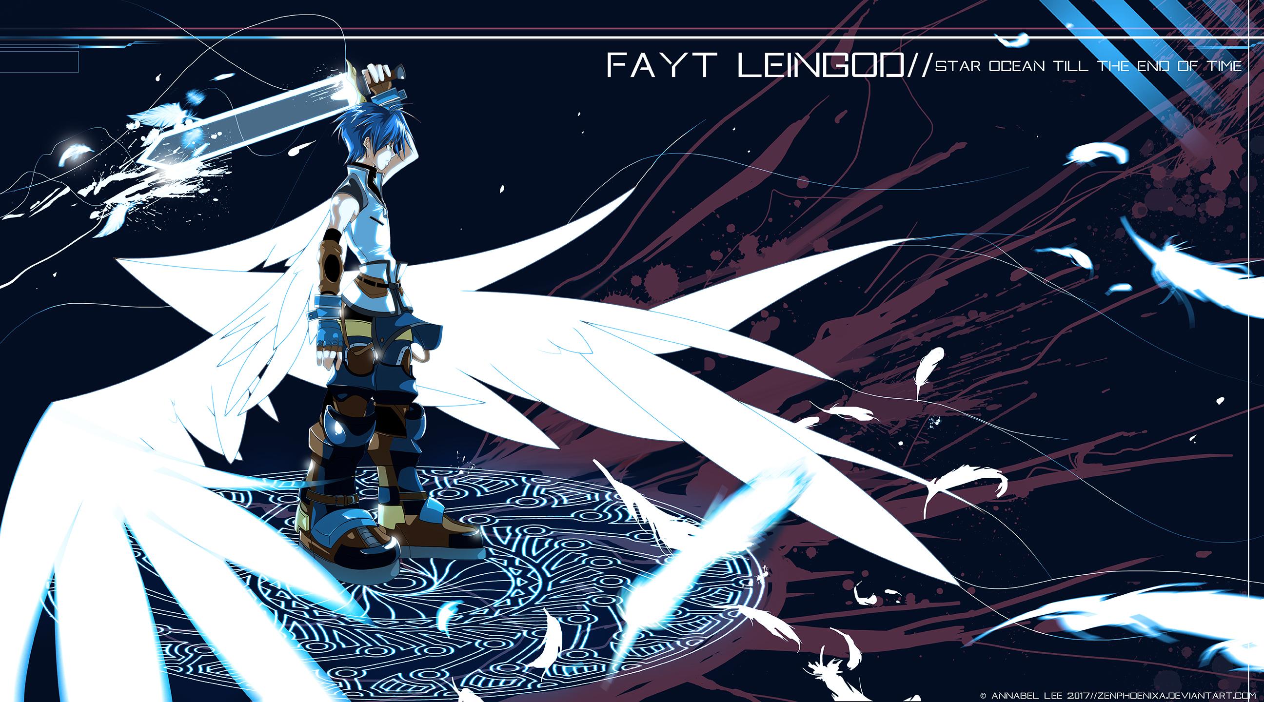 Divine Entity Fayt Leingod Star Ocean 3 By Zenphoenixa On