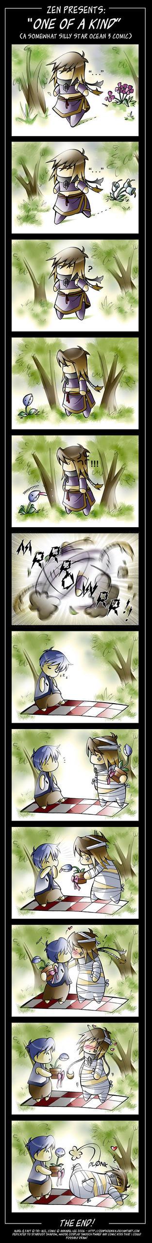 'One of a Kind': SO3 comic by zenphoenixa