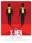 X-Men First Class Alternative Poster Art