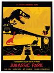 Jurassic Park Alternative Movie Art