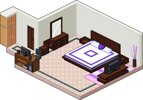 Pixel Room by dixiefrog