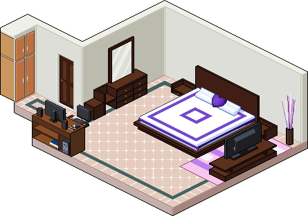 Pixel Room By Dixiefrog On Deviantart
