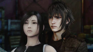 Noctis x Tifa {Until the end of the line}