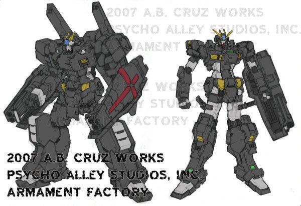 Vengence Gundam by DavidKits