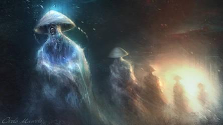 Blind Monks by Carlo-Marcelo