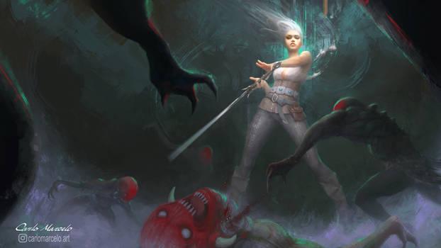 Ciri Bloodbath V2 (Check link for the 3D version)