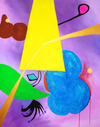 Untitled Painting 2009 1 by wappyness