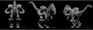 Mechanic Monster by WXKO
