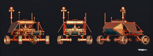 MARS EXPLORER by WXKO