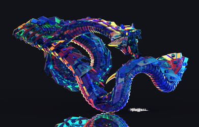ICE DRAGON by WXKO