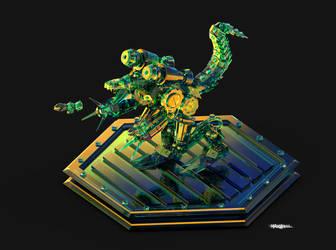 MACHINEDRAMON by WXKO