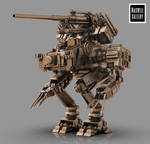 DESTROYER MECH by WXKO
