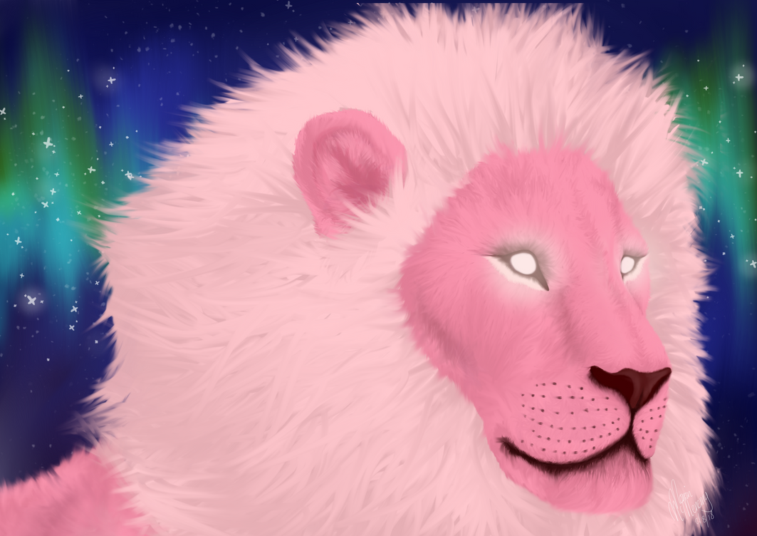 Here's the final end result, yehhhyyy its finally done!! If you would like to see the process please check out the rest of my profile. This is my fanart of Pink Lion from Steven Universe in a more ...