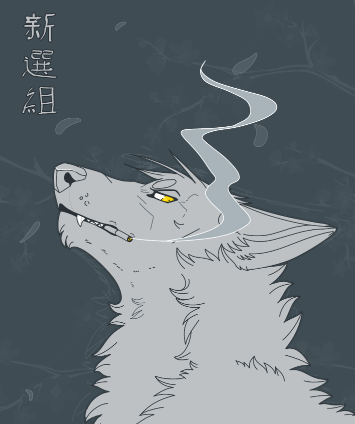 Wolf by DeadRussianSoul