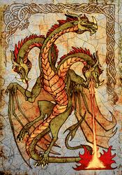 Wyvern Gorynych by NIARKAN