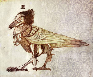 Raven from Manatee (Lamantin) (2013) by NIARKAN
