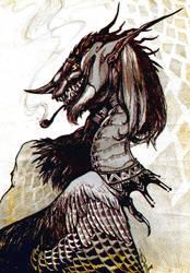Cunning dragon (2015) by NIARKAN