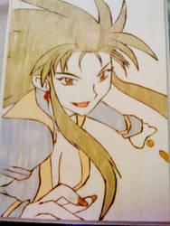 Fighting Ryoko