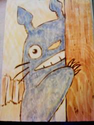 Totoro peekaboo