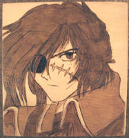 Captain Harlock Woodburn by akicafe