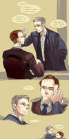 Sherlock - That afternoon he forgot his umbrella