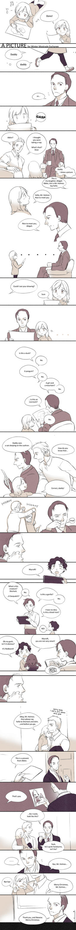 Sherlock - A picture by zzigae