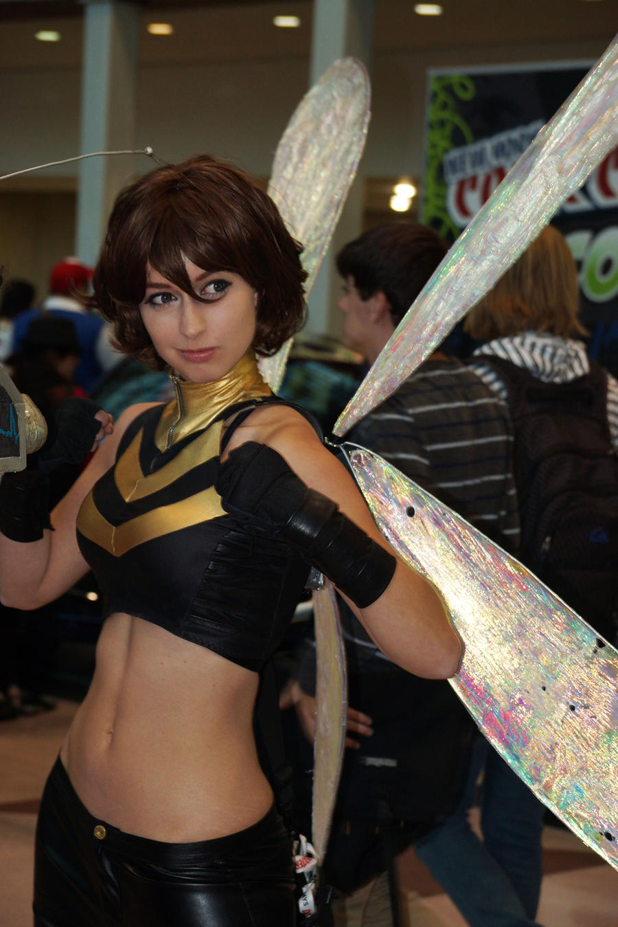 NYCC 2012 - The Wasp by kamau123