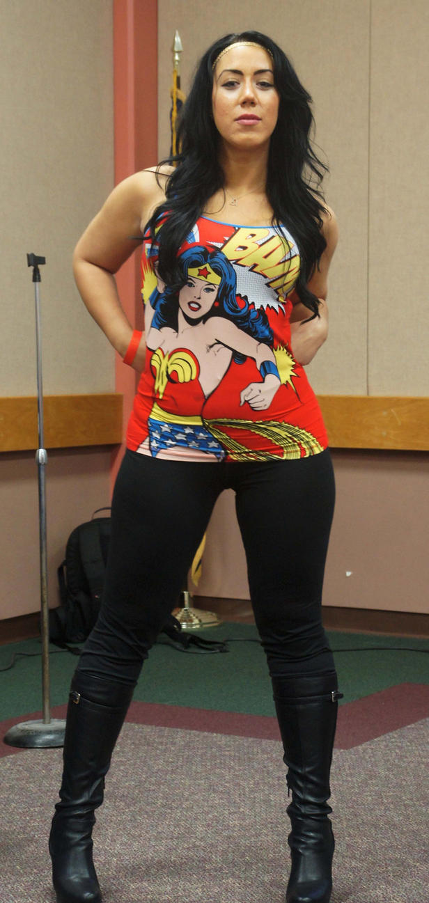 Wonder Woman 4 - New York Comic Fest 2014 by kamau123