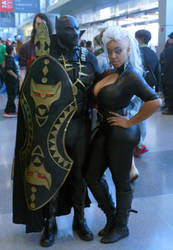 NYCC 2015 - Black Panther  - Storm 1 - Sun by kamau123