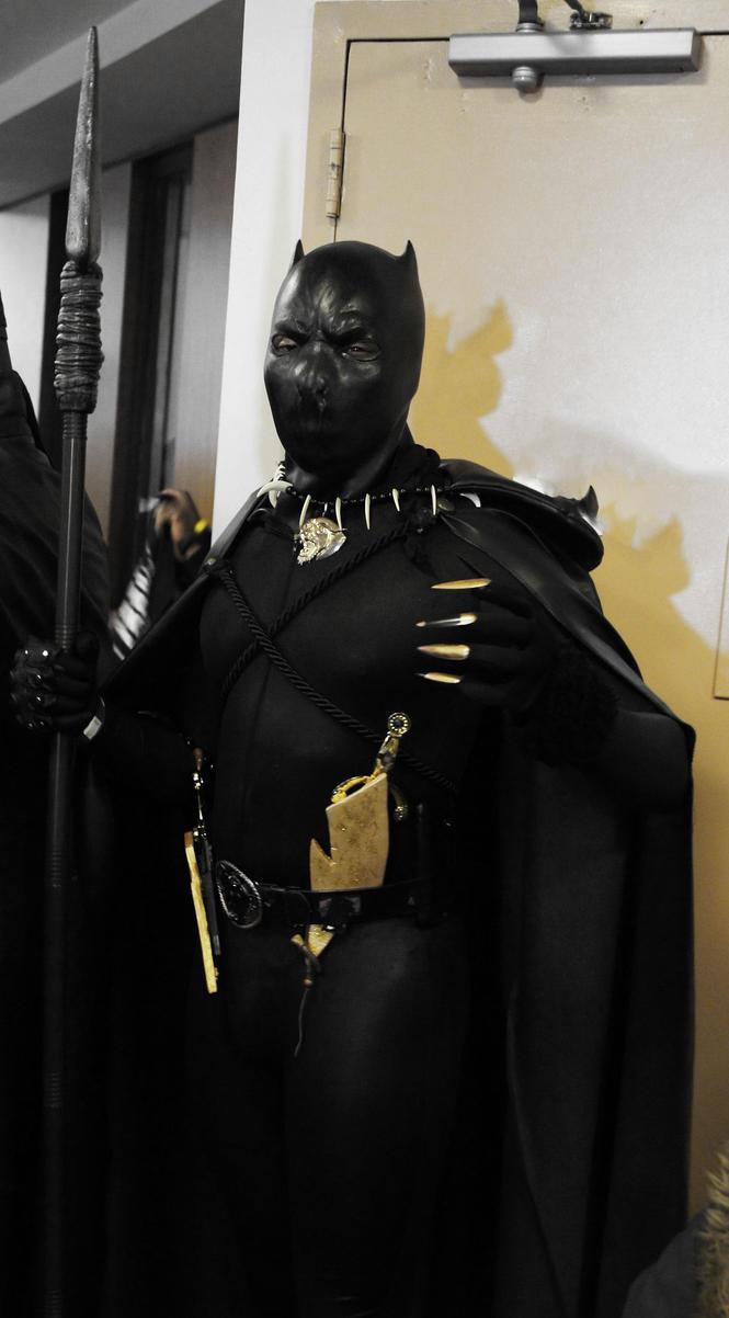 4th Annual Black Comic Book Festival Black Panther by kamau123