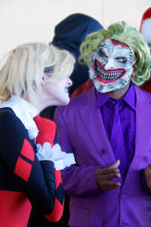 Winter Con 2016 - Joker - Harley Quinn