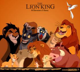 Lion King by DragonExiles
